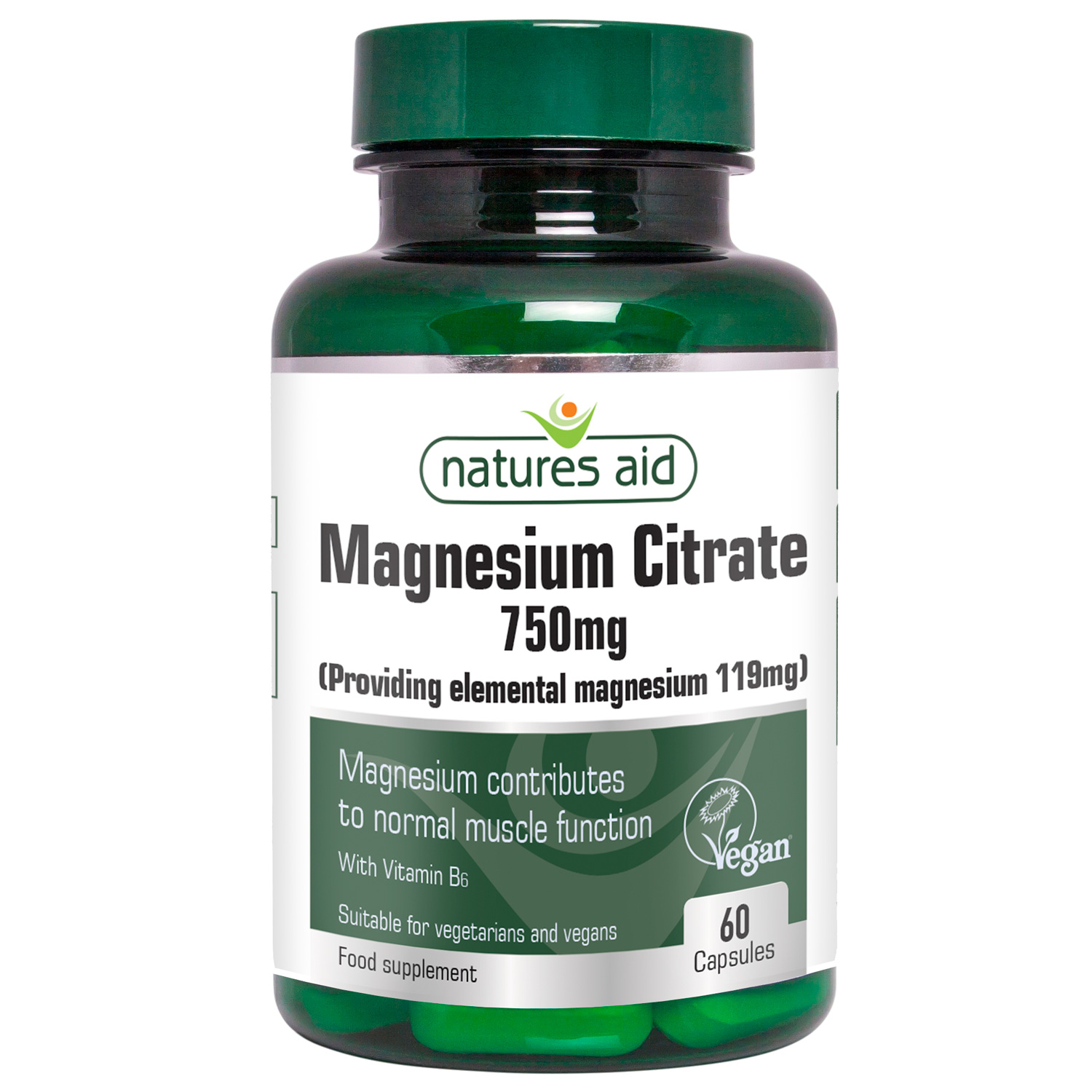 Magnesium Citrate 750mg 60's
