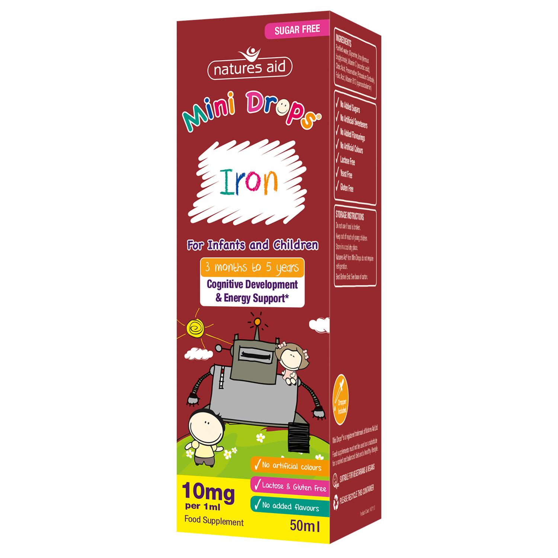 Mini Drops Iron 50ml