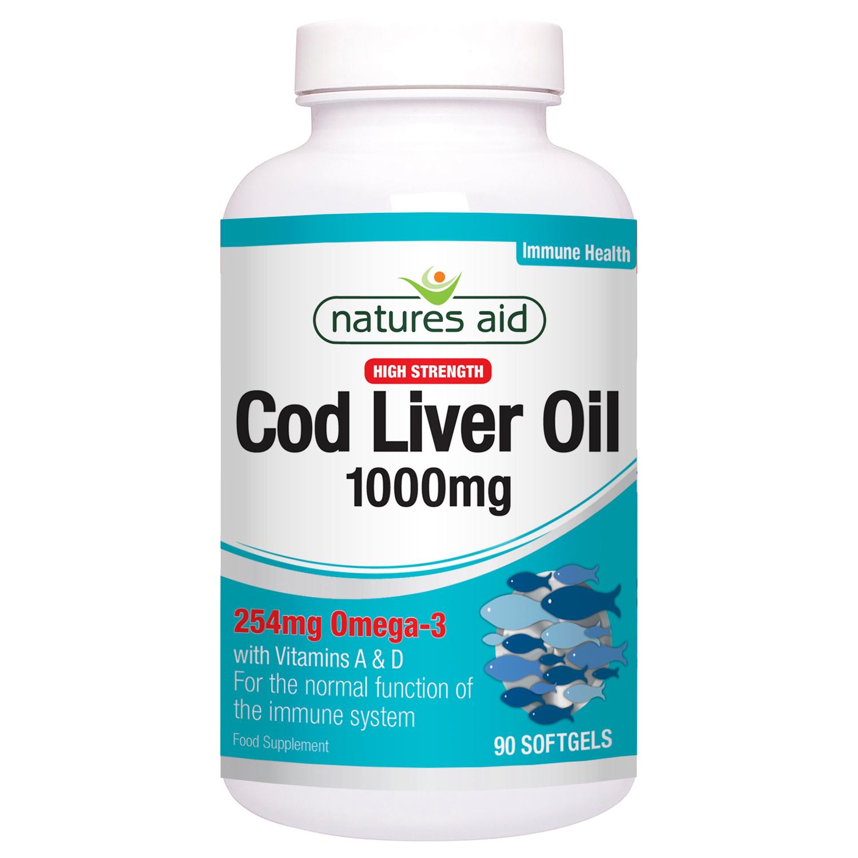 Cod Liver Oil 1000mg 90's