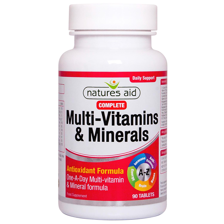 Complete Multi-vitamins & Minerals 90's