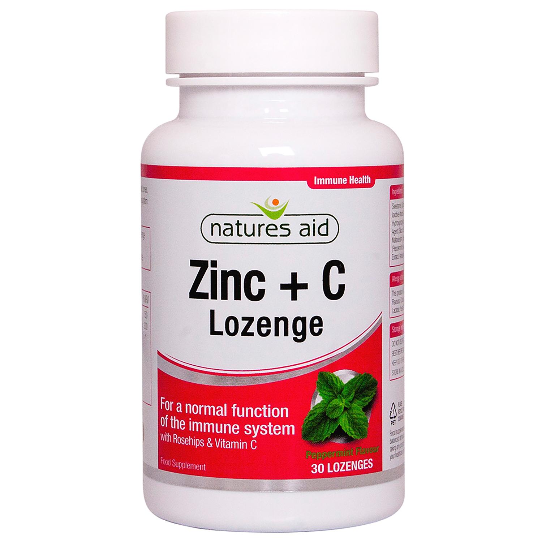 Zinc + C Lozenge (Peppermint) 30's
