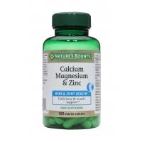 Calcium, Magnesium & Zinc 100's