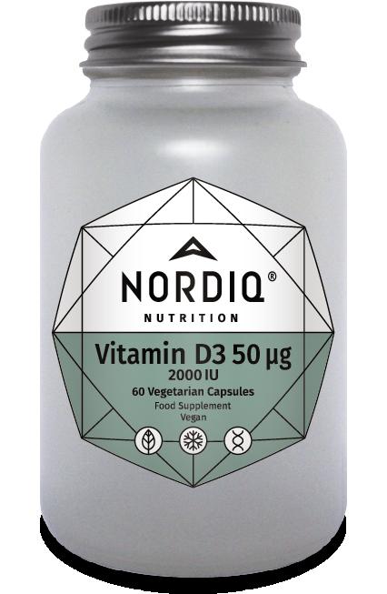 Vitamin D3 2,000iu 60's