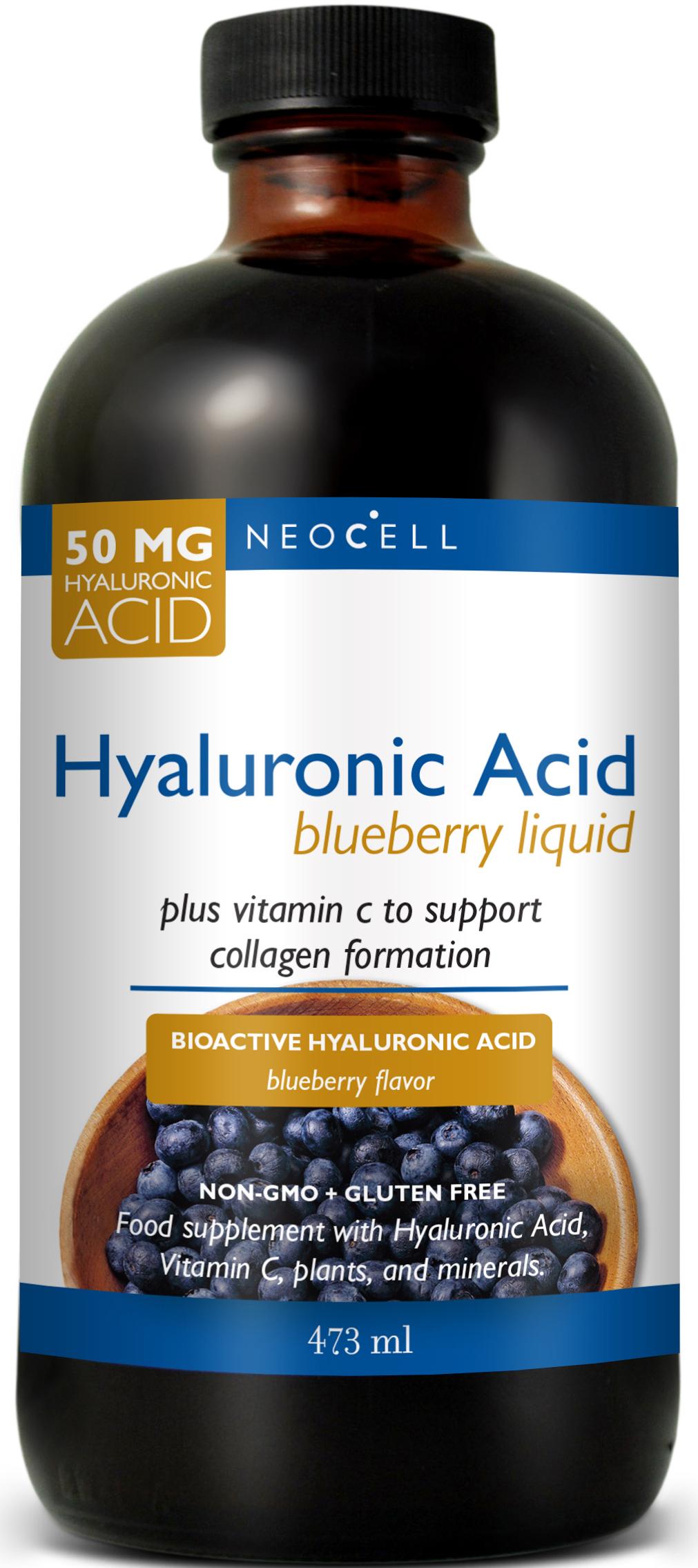 Hyaluronic Acid Blueberry 50mg 473ml