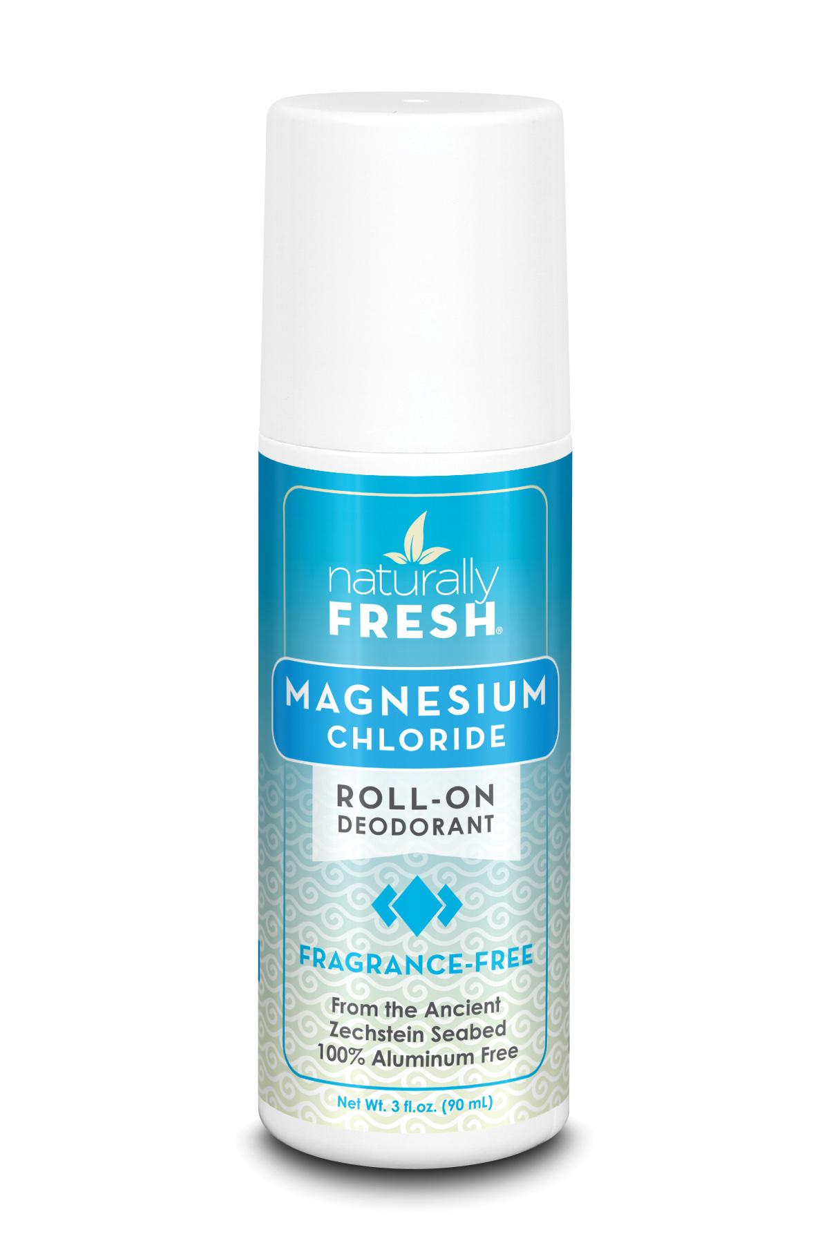 Magnesium Chloride Roll-On Deodorant Fragrance Free 90ml