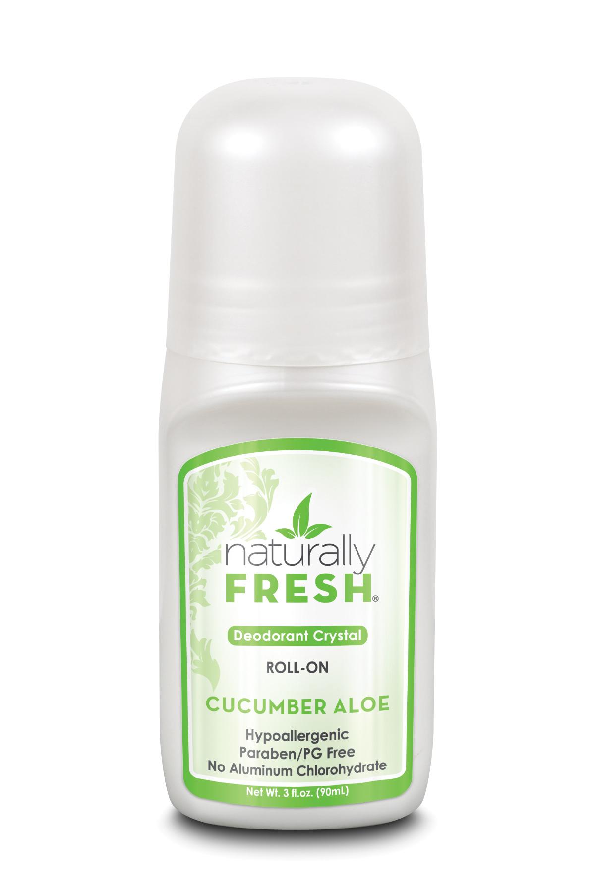 Deodorant Crystal Roll-On Cucumber Aloe 90ml