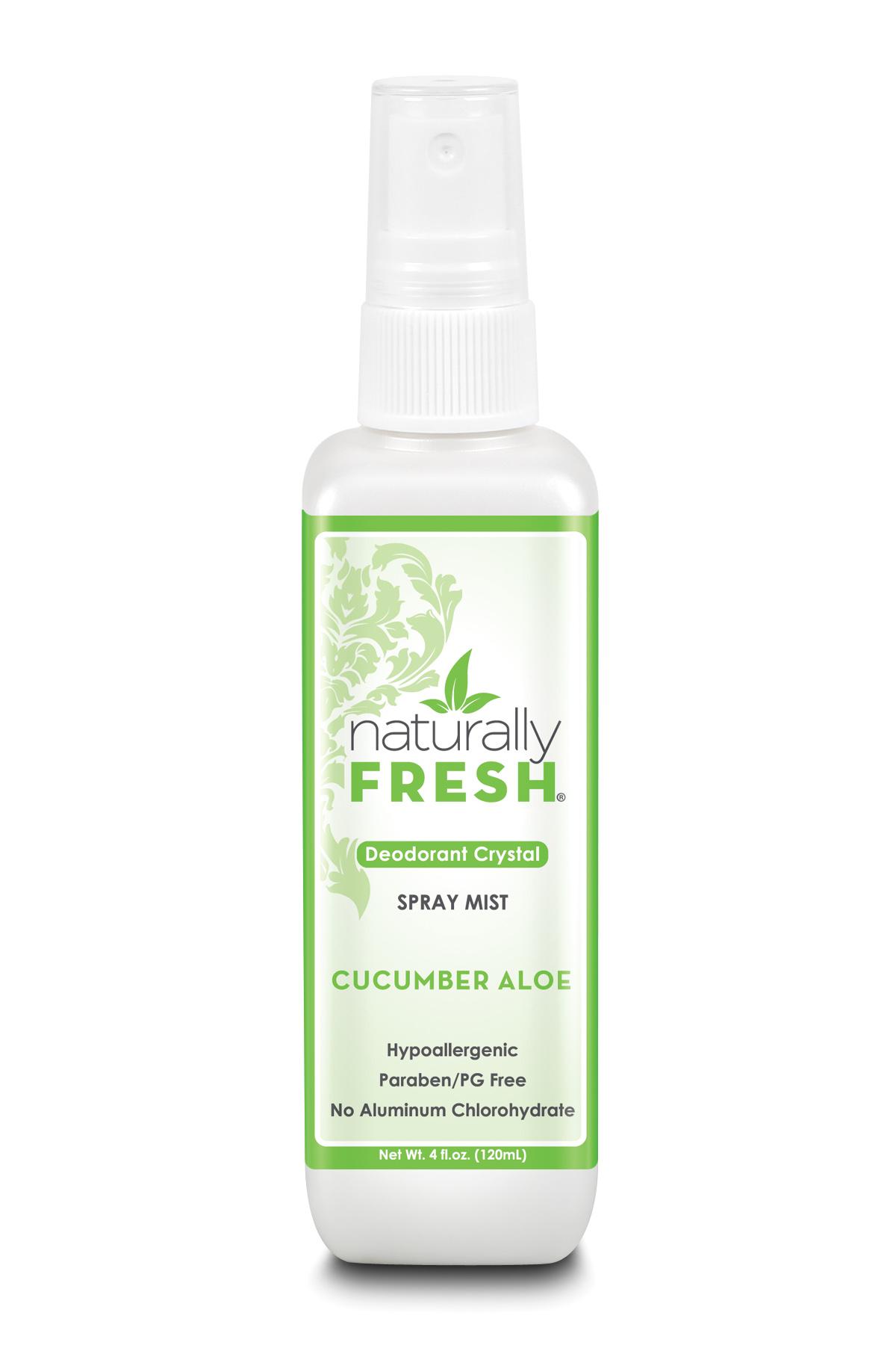 Deodorant Crystal Spray Mist Cucumber Aloe 120ml