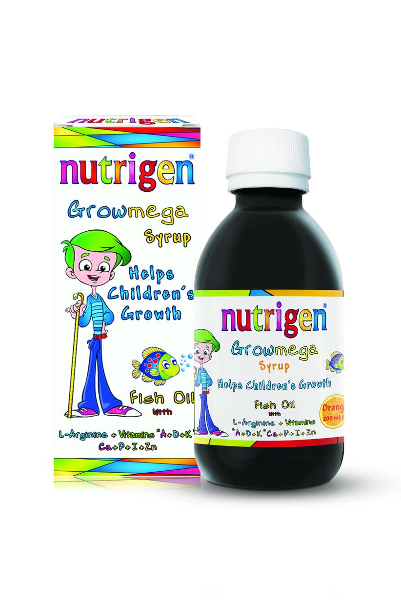 Growmega Syrup Orange Flavour 200ml