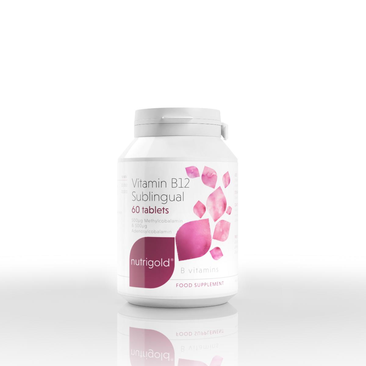 Vitamin B12 Sublingual 60's