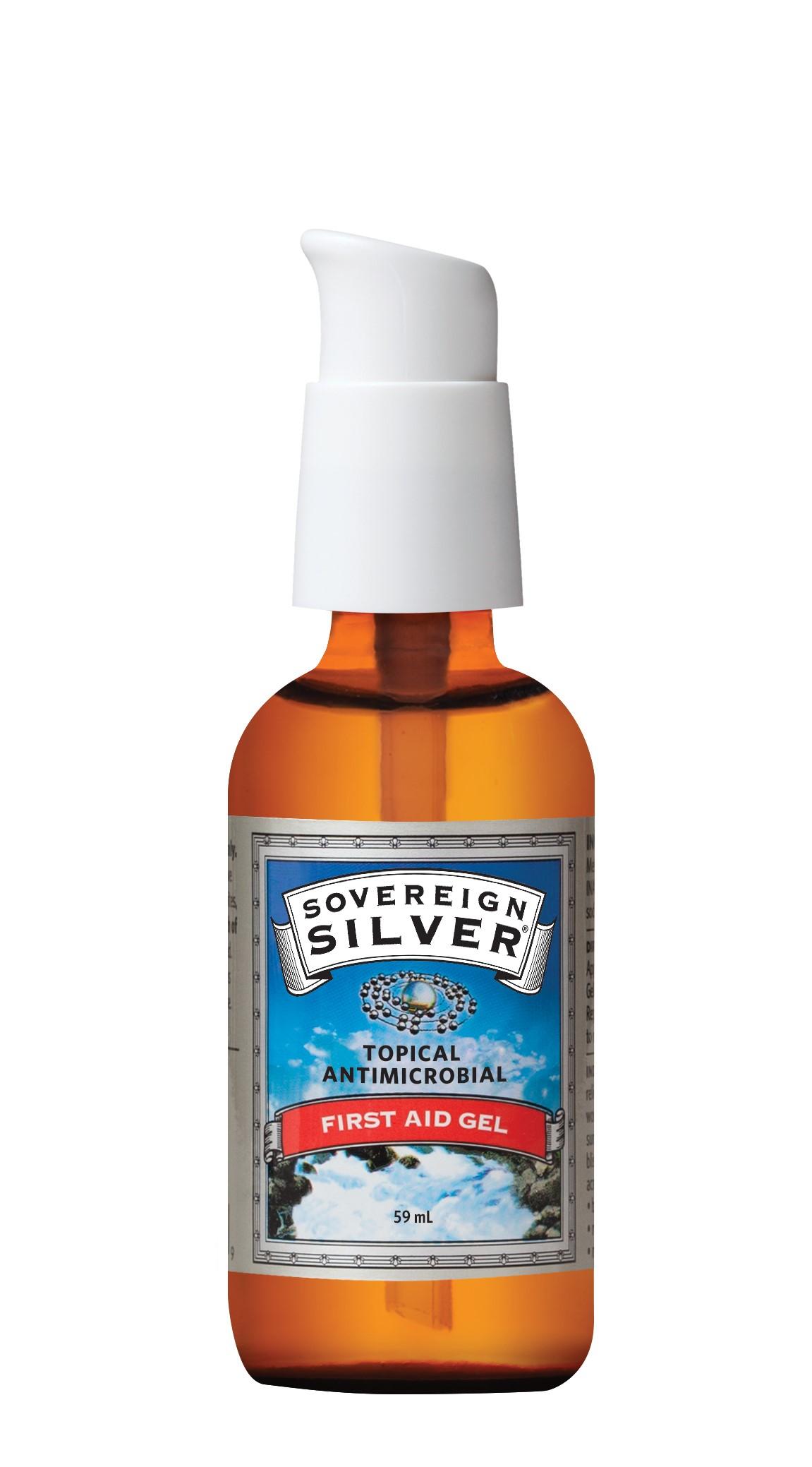 Sovereign Silver First Aid Gel 59ml