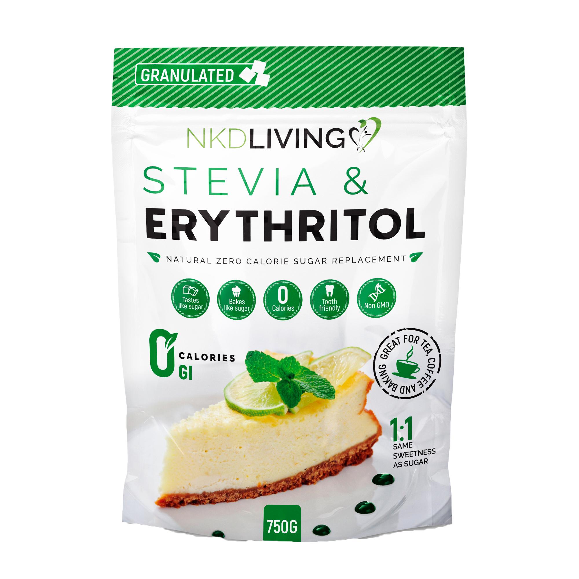 Stevia & Erythritol 1:1 Granulated 750g