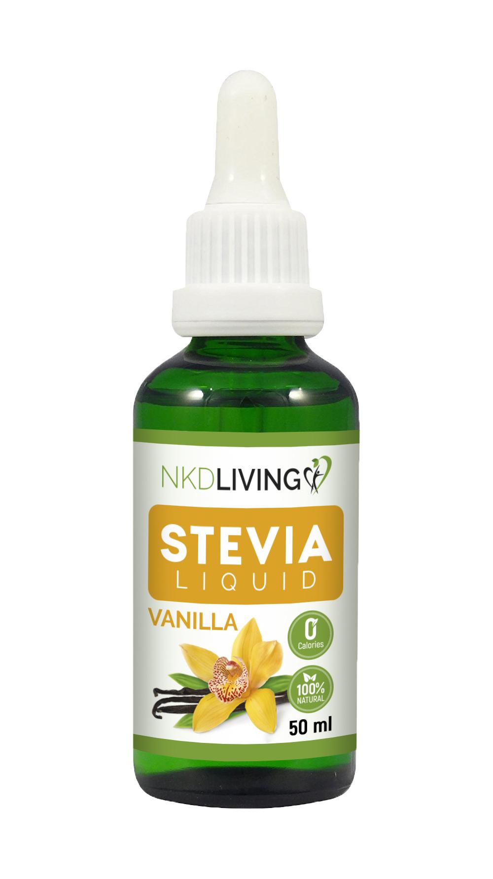 Stevia Liquid Vanilla 50ml