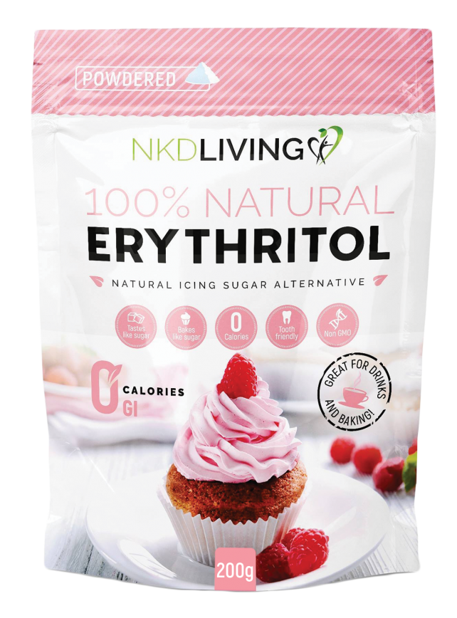 Erythritol Natural Sugar Alternative Powdered 200g