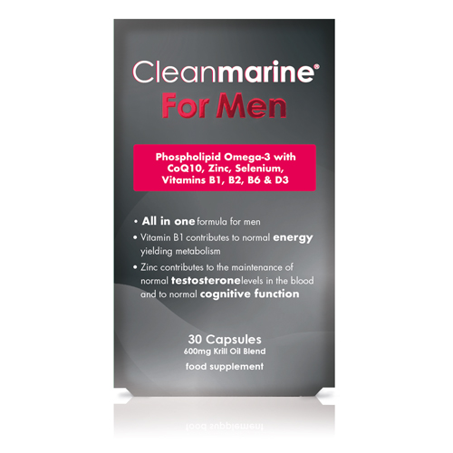 Cleanmarine for Men 600mg 30's