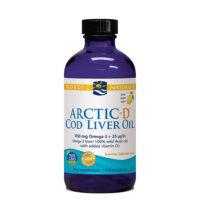 Arctic-D Cod Liver Oil Lemon 237ml