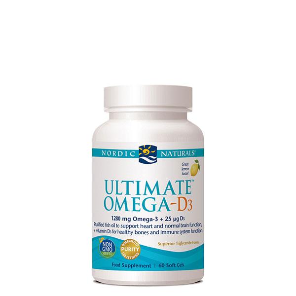 Ultimate Omega-D3 Lemon 60's