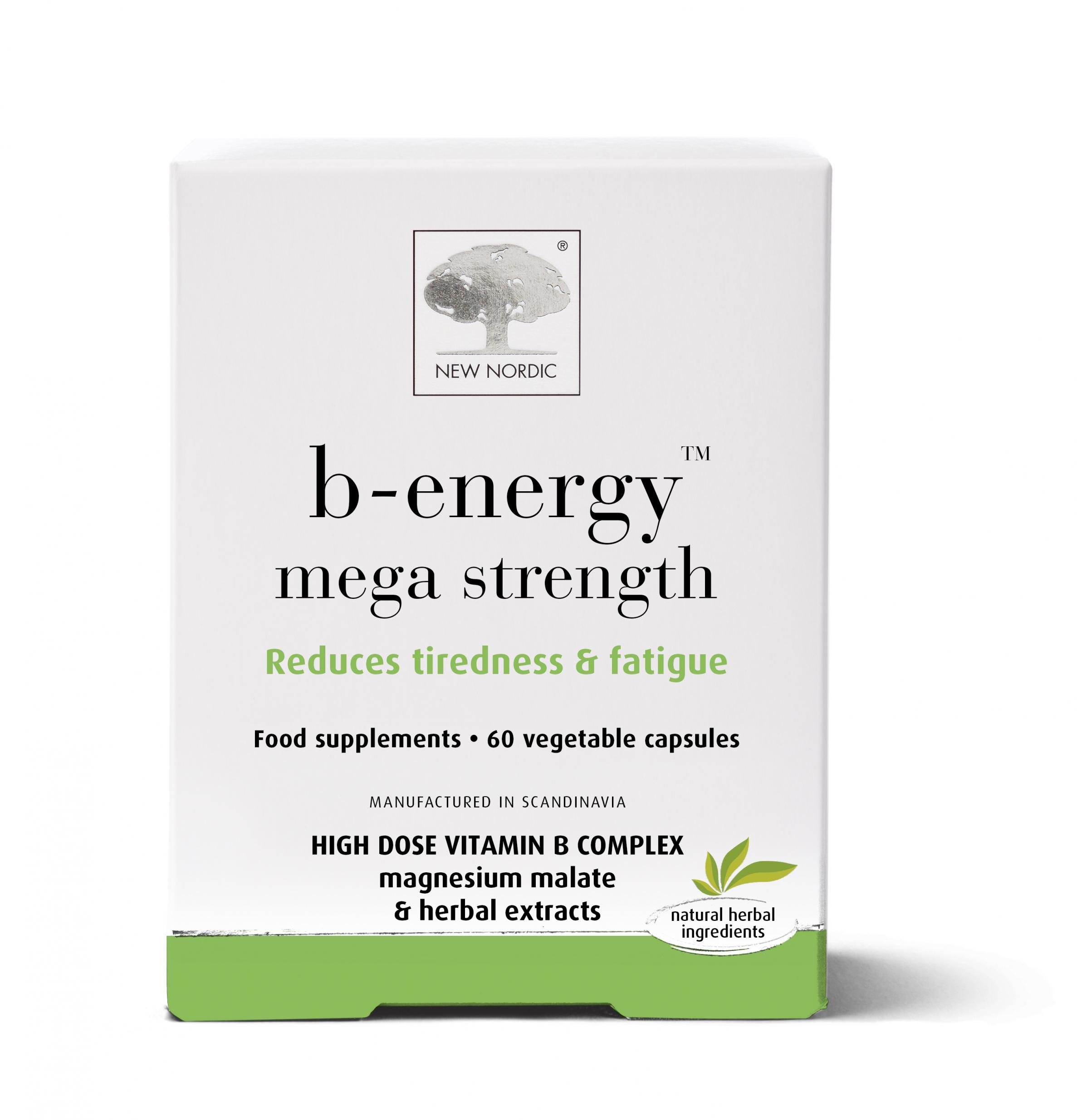 b-energy mega strength 60's