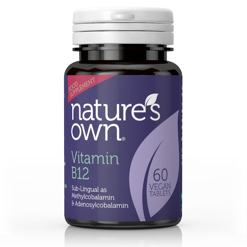 Vitamin B12 Sublingual 500ug Methylcobalamin 60's