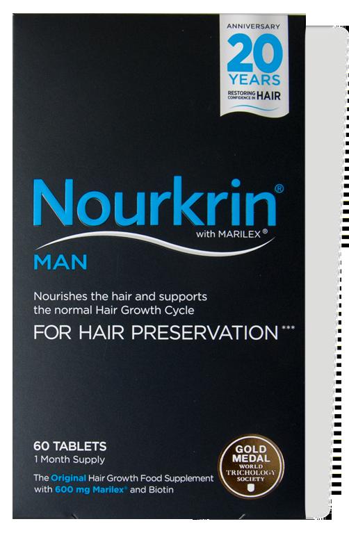 Nourkrin Man For Hair Preservation 60's