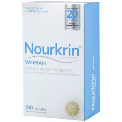 Nourkrin Woman For Hair Growth 180's