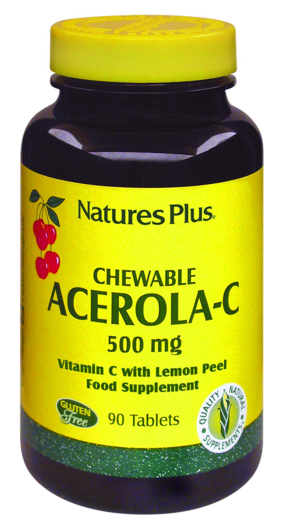 Chewable Acerola-C 500mg 90's