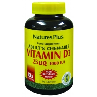 Vitamin D3 (Adult's Chewable) 1000iu 90's
