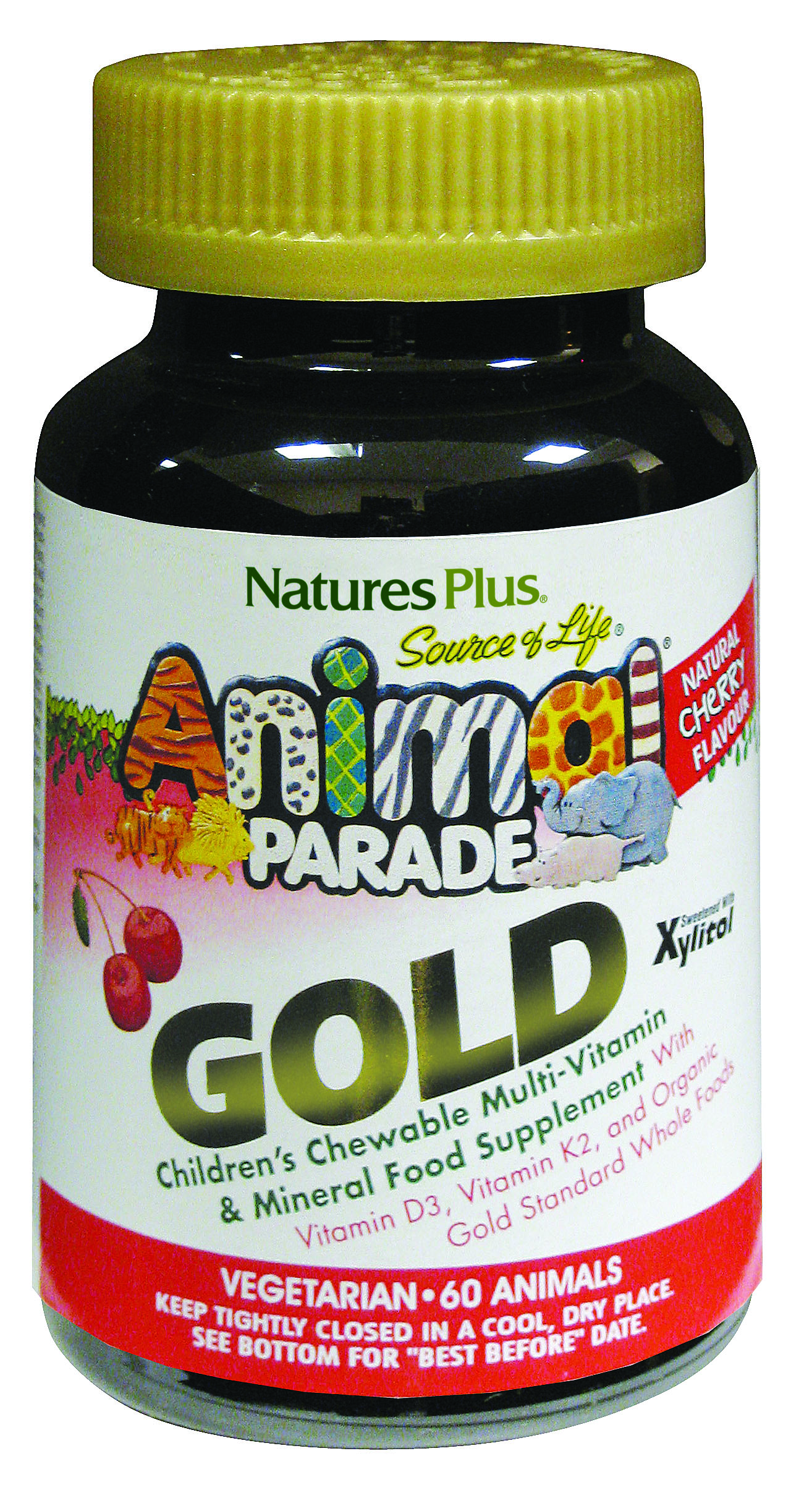 Source of Life Animal Parade GOLD Natural Cherry Flavour 60's (Currently Unavailable)