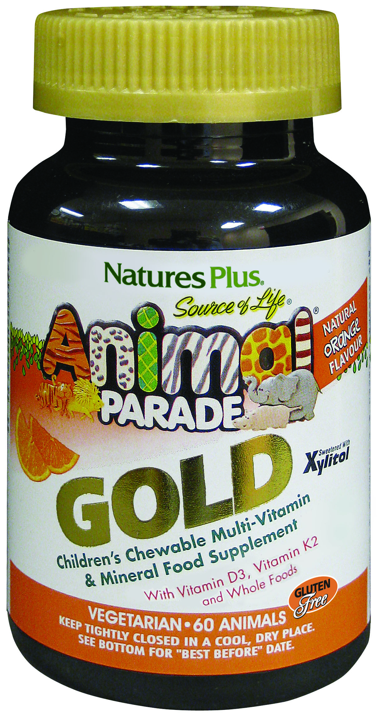 Source of Life Animal Parade GOLD Natural Orange Flavour 60's (Currently Unavailable)