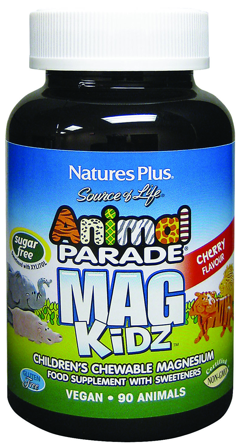 Source of Life Animal Parade Mag Kidz Cherry Flavour 90's