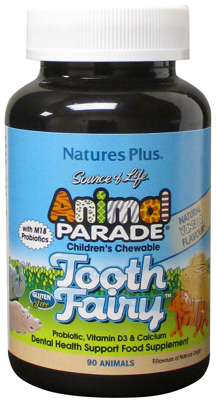Source of Life Animal Parade Tooth Fairy Natural Vanilla Flavour 90's