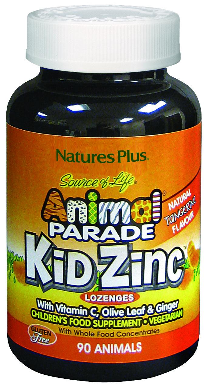 Source of Life Animal Parade Kid Zinc Natural Tangerine Flavour 90's