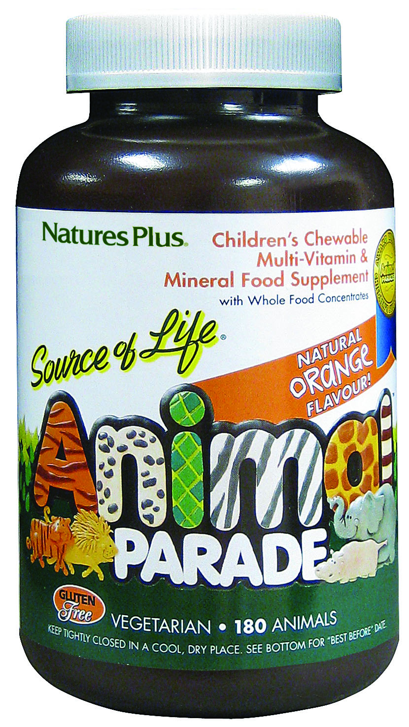 Source of Life Animal Parade Natural Orange Flavour 180's (Currently Unavailable)