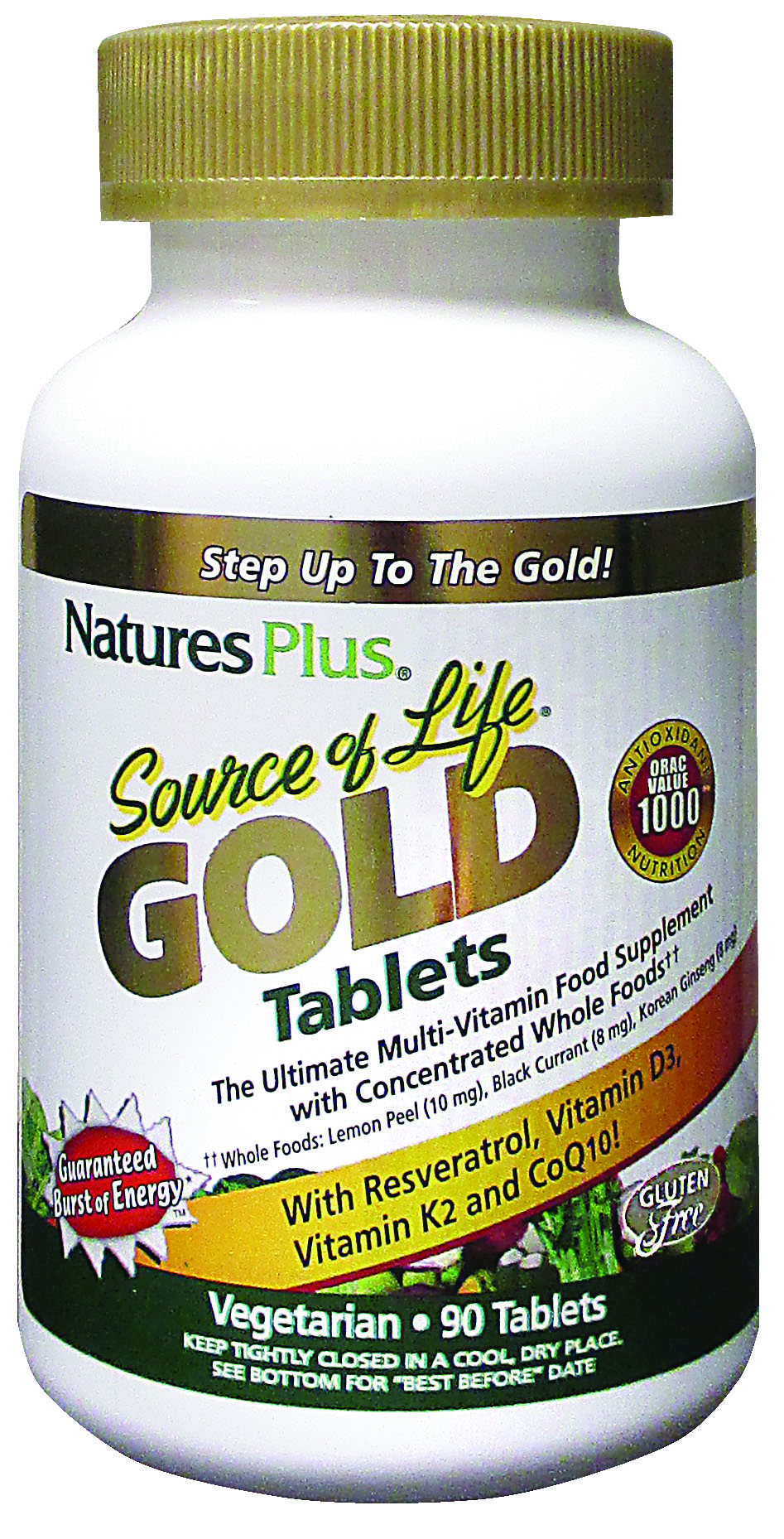 Source of Life Gold Tablets 90's
