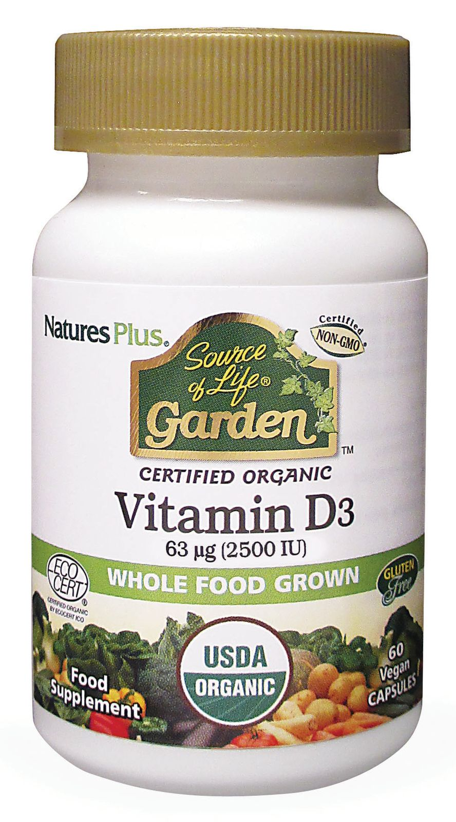 Source of Life Vitamin D3 2500iu 60's (Currently Unavailable)