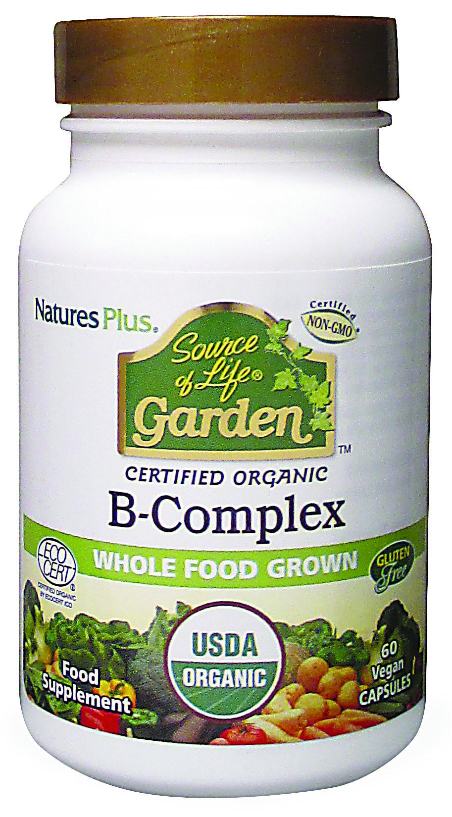 Source of Life Garden B-Complex 60's