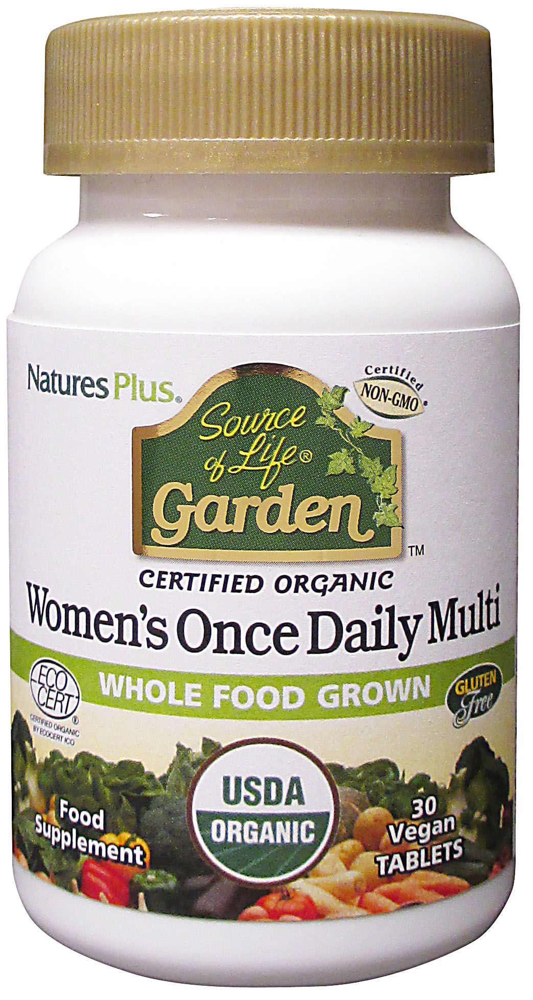 Source of Life Garden Certified Organic Women's Once Daily Multi 30's