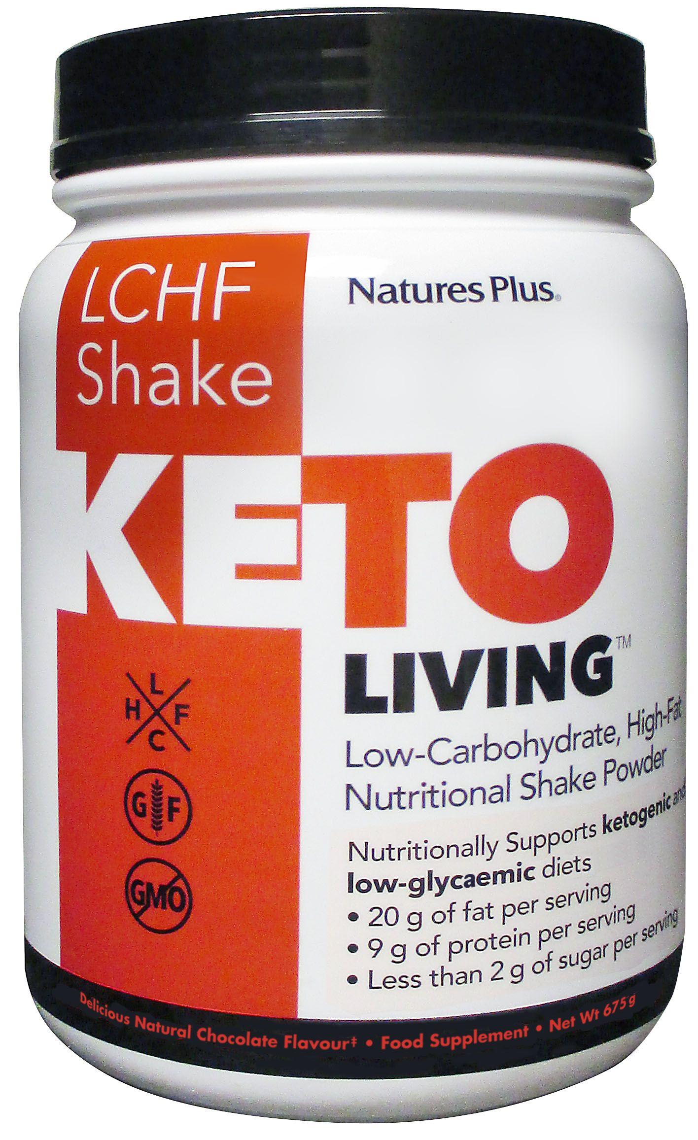 KetoLiving LCHF Chocolate Shake Powder 675g