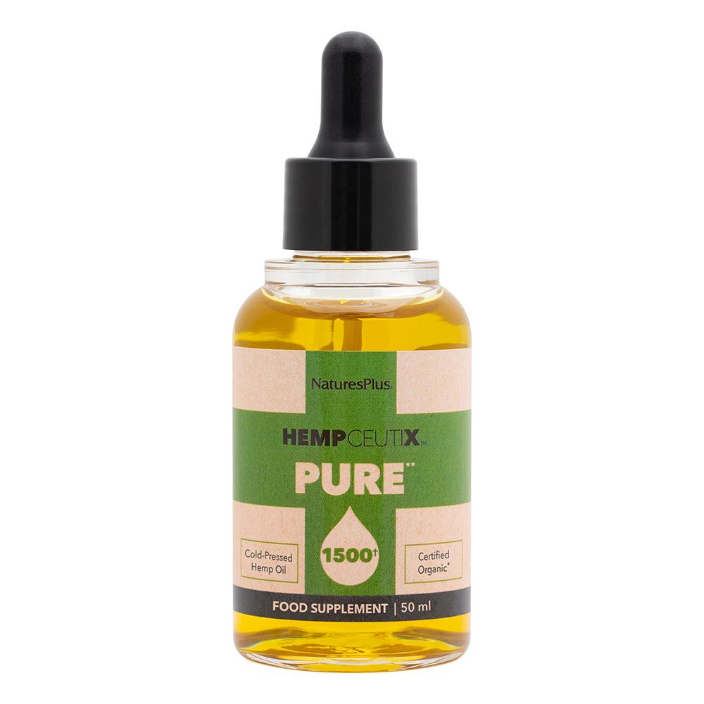 Hempceutix Pure Hemp Oil 1500mg 50ml