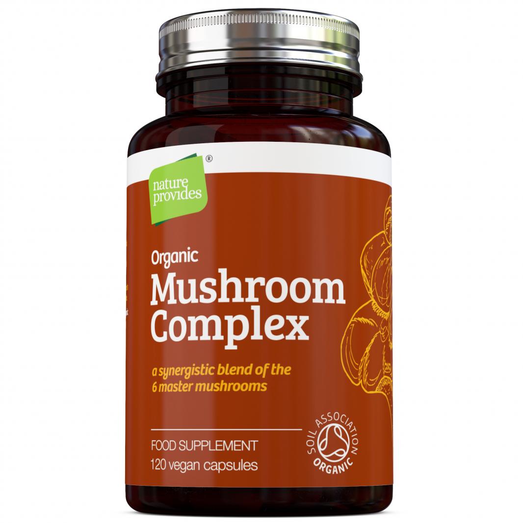 Organic Mushroom Complex 120's