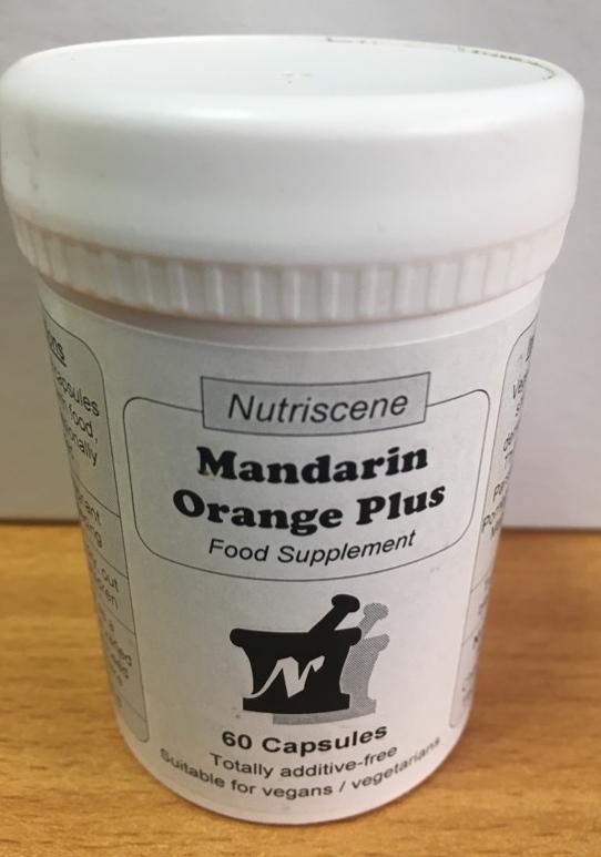 Mandarin Orange Plus 60's