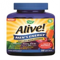 Alive! Men`s Energy 60 Chewable Softgels