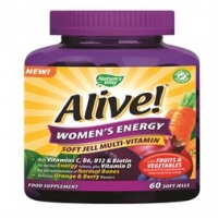 Alive! Women`s 60 Chewables Softgels