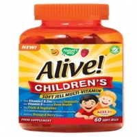 Alive! Children`s Soft Jell Multi-Vitamin 60's