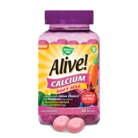Alive Calcium Soft Jell 60's