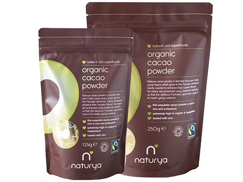 Organic Cacao Powder 125g