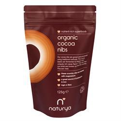 Organic Cacao Nibs 125g