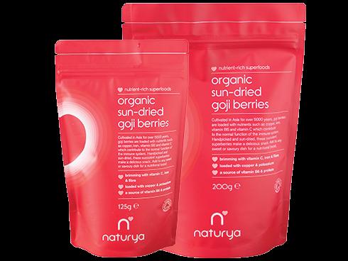 Organic Sun-Dried Goji Berries 200g