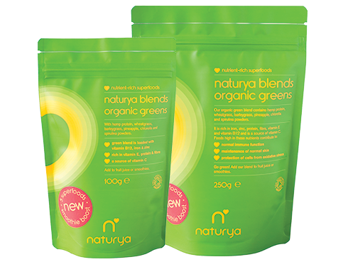 Naturya Blends Organic Greens 250g
