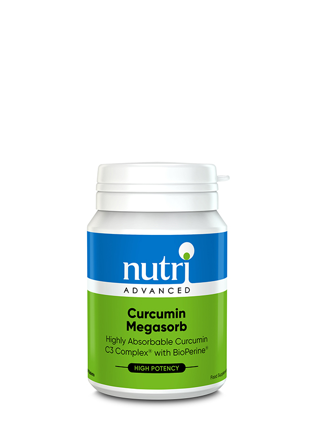 Curcumin Megasorb 60's