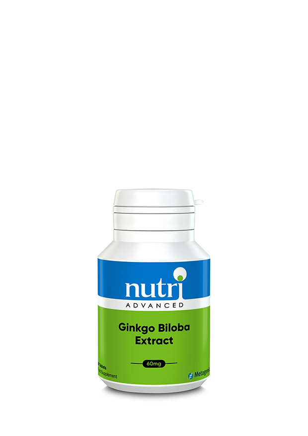 Ginkgo Biloba Extract 60's (Currently Unavailable)